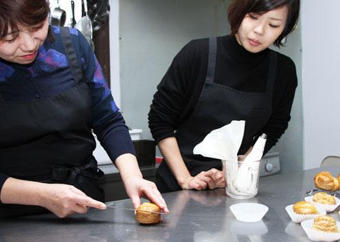 お菓子作り教室