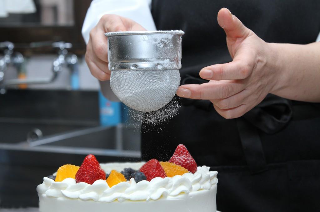 VanillaBeansケーキ作り