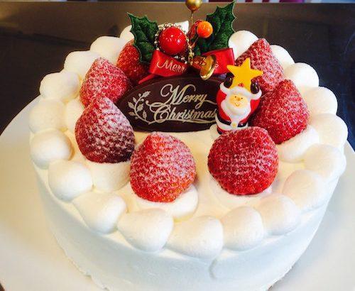 苺生クリームケーキ